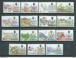 St Helena 1968 Definitive Set 15 MNH - Saint Helena Island