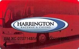Harrington Raceway Midway Slots - Harrington, DE - Special Bus Card With No Manufacturer Mark - Casino Cards