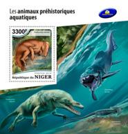 Niger 2018     Prehistoric Water Animals    S201812 - Niger (1960-...)