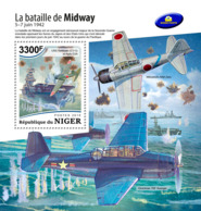 Niger 2018   The Battle Of Midway , World War II  S201812 - Niger (1960-...)
