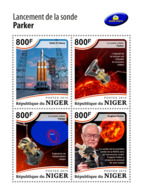 Niger 2018    The Launch Of Parker Solar Probe, Space    S201812 - Niger (1960-...)