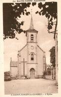 Kp84749 Saint Junien Les Combes Eglise Saint Junien Les Combes - Frankrijk