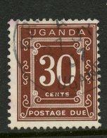 Uganda 1967 30c Postage Due Issue #J4 - Uganda (1962-...)