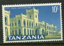 Tanzania 1965 10sh State House Issue #17  MNH - Tanzania (1964-...)