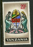 Tanzania 1965 20sh Coat Of Arms Issue #18  MH - Tanzania (1964-...)