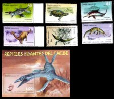 647  Prehistoric  Fauna Prehistorique - 2013 - MNH - Cb -  3,50 - Timbres