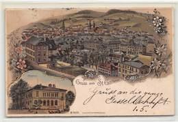 Gruss Aus St. Gallen - Litho - SG St. Gallen