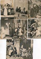 Lot De 8 Images - Bourgeoisie, Noblesse? - Vieux Papiers