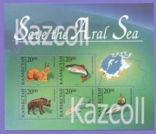 Kazakhstan 1996. Save The Aral Sea.  Animal. Fauna. - Kazajstán