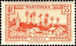 Martinique Poste N** Yv:144A Mi:139 Village De Basse-Pointe - Ungebraucht