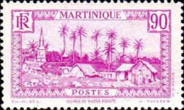 Martinique Poste N** Yv:180 Mi:181 Village De Basse-Pointe Petit Pli - Ungebraucht
