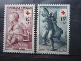 VEND TIMBRES DE FRANCE N° 1048 + 1049 , NEUFS SANS CHARNIERE !!! (c) - Frankreich