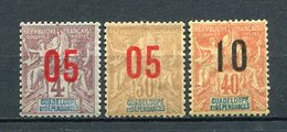 Guadeloupe Nr.69/71          *  Unused       (032) - Guadalupe (1884-1947)