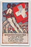 57 Eidgenössisches Turnfest In St. Gallen 21 Bis 25 Juli 1922 - SG St. Gallen