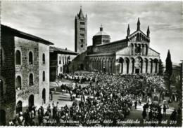MASSA MARITTIMA  GROSSETO  Sfilata Delle Repubbliche Toscane Del 200  Uscita Dalla Cattedrale - Grosseto