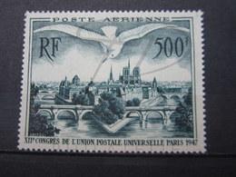 VEND TIMBRE DE POSTE AERIENNE DE FRANCE N° 20 , NEUF AVEC CHARNIERE !!! - Airmail