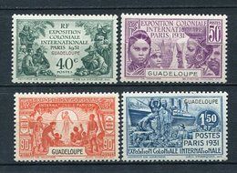 Guadeloupe Nr.127/30          *  Unused       (045) - Guadalupe (1884-1947)