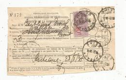 Timbre Fiscal , 50 C , Puteaux ,1937 , Service De La Radiodiffusion - Steuermarken