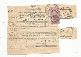 Timbre Fiscal , 25 C , Puteaux ,1936 , Service De La Radiodiffusion , DA - Steuermarken