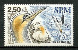 SPM Miquelon  2003  PA  N° 83 ** Neuf MNH Superbe C 10 € Faune Oiseaux Fou De Bassan Migrateur Birds Animaux - Poste Aérienne