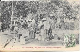 Cochinchine - Saïgon - A La Fontaine - Porteurs D'eau - Vietnam