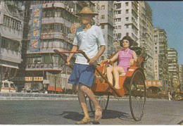 CHINE--HONG KONG--rickshaw In Hong Kong---voir 2 Scans - Chine (Hong Kong)