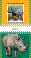 Sierra Leone   2018   Rhinos  Fauna  S201812 - Sierra Leone (1961-...)