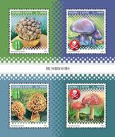 Sierra Leone   2018   Mushrooms S201812 - Sierra Leone (1961-...)
