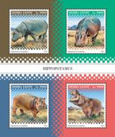 Sierra Leone   2018  Hippopotamus Fauna  S201812 - Sierra Leone (1961-...)