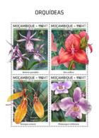 Mozambique  2018   Orchids    S201812 - Mozambique