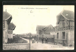 CPA Ver-sur-Mer, Une Avenue De La Mer - Zonder Classificatie