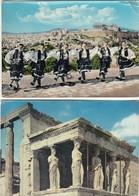 12244-N°. 6 CARTOLINE GRECIA - ATENE-FG - Grecia