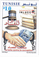 Tunisia New Issue 2018, Against Corruption 1v. Complete Set MNH- SKRILL PAYMENT ONLY - Tunisia
