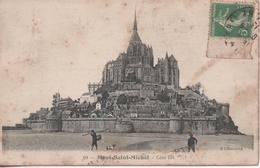 LE MONT ST MICHEL COTE EST - Le Mont Saint Michel
