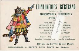 """Très Joli Buvard """" Le Chat Botté"""" / Image D'Epinal / Teinturerie Blkanchisserie Lavage BERTRAND / 88 Epinal - Animaux"""
