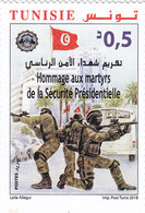 Tunisia New Issue 2018,For Martyr's 1v. Complete Set MNH- SKRILL PAYMENT ONLY - Tunisia