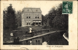 Cp Moergestel Oisterwijk Nordbrabant, Villa Hoogerhuizen, Uferpartie - Zonder Classificatie
