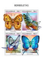 Mozambique  2018   Butterflies    S201812 - Mozambique
