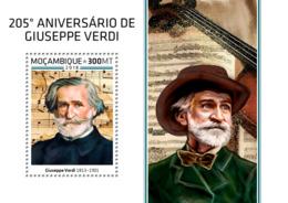 Mozambique  2018    Giuseppe Verdi  Opera Composer    S201812 - Mozambique
