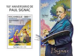 Mozambique  2018   Paul Signac Paintings     S201812 - Mozambique