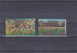 Corée - Football - Coupe Du Monde Espagne 82 - Michel 2090 / 91 ** - NON Dentelés - Timbres 3D - Valeur 40 Euros - 1982 – Espagne