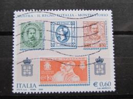 *ITALIA* USATI 2006 - MOSTRA REGNO D'ITALIA - SASSONE 2880 - LUSSO/FIOR DI STAMPA - 6. 1946-.. Repubblica