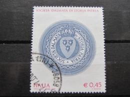 *ITALIA* USATI 2006 - SOCIETA' DALMATA STORIA PATRIA - SASSONE 2881 - LUSSO/FIOR DI STAMPA - 6. 1946-.. Repubblica