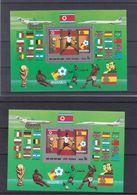 Corée - Football - Coupe Du Monde Espagne 82 - Michel BF 118A / B ** -dentelé+NON Dentelé-drapeaux-valeur 36 Euros - World Cup