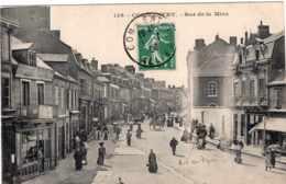 COMMENTRY RUE DE LA MINE 1908 TBE - Commentry