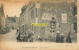 35 Roz Sur Couesnon, Rue Principale, Animation, Table Dans La Rue Avec Groupe Qui Boit, Familles......., Belle Carte - Frankreich
