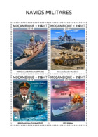 Mozambique  2018   Military Ships     S201812 - Mozambique