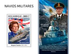 Mozambique  2018   Military Ships  Margaret Thatcher ,HMS Hermes     S201812 - Mozambique