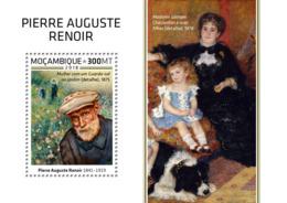 Mozambique  2018   Pierre Auguste Renoir Paintings     S201812 - Mozambique
