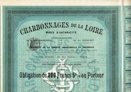 42-CHARBONNAGES DE LA LOIRE. MINES D'ANTHRACITE. LAY & LES FOURNEAUX - Other